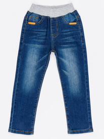 Phoebe & Floyd Enzyme-washed 5-pocket Jeans Mid blue ...