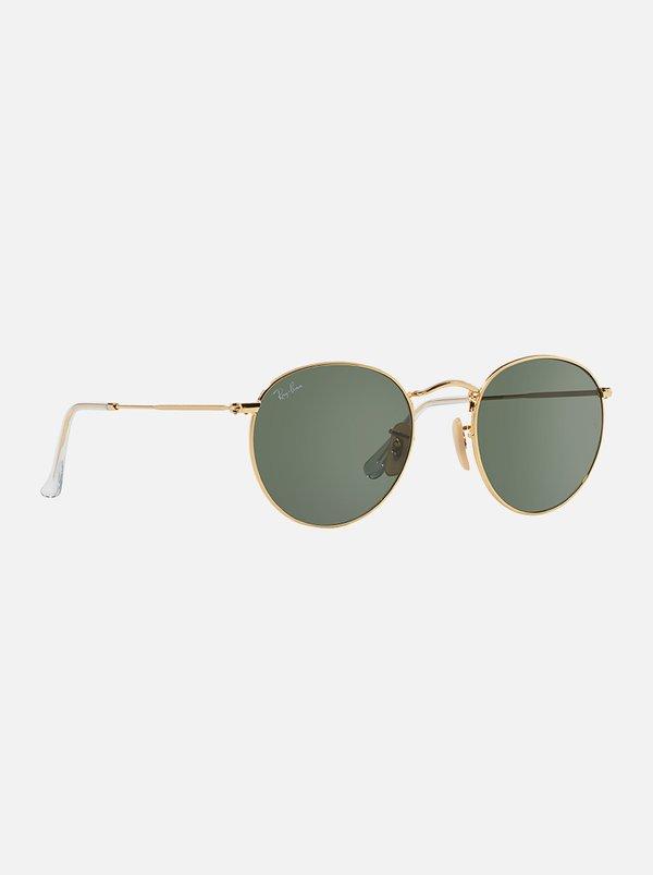 Ray-Ban Round Sunglasses Gold | Ray-Ban