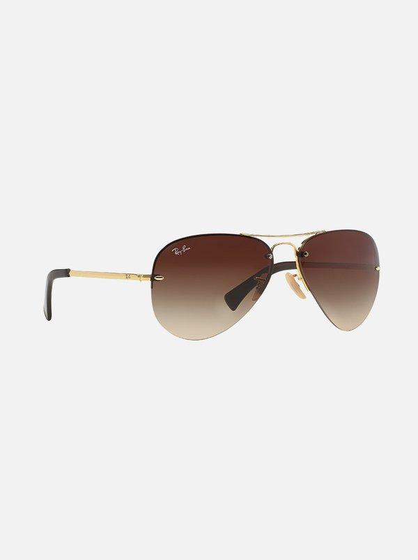 Ray-Ban Aviator Sunglasses Dark Brown | Ray-Ban
