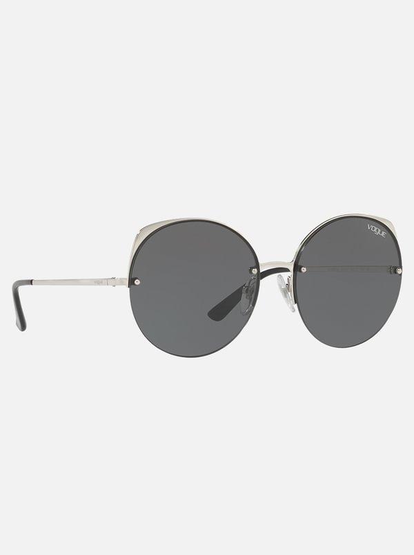 Vogue Round Sunglasses Grey | Vogue