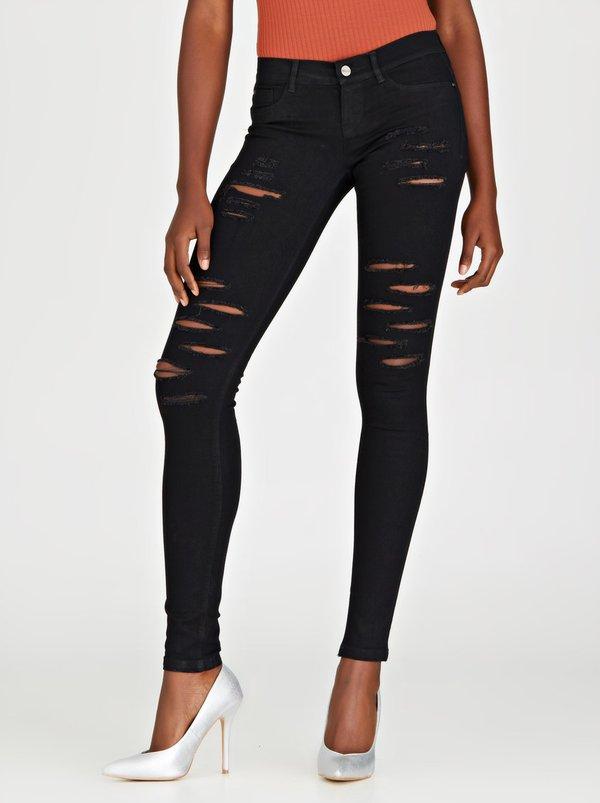 Sissy boy 8th wonder of the world ripped skinny jeans black spree