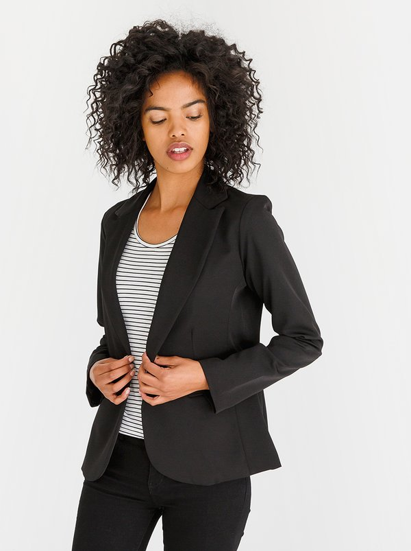 Fitted Blazer Black | edit