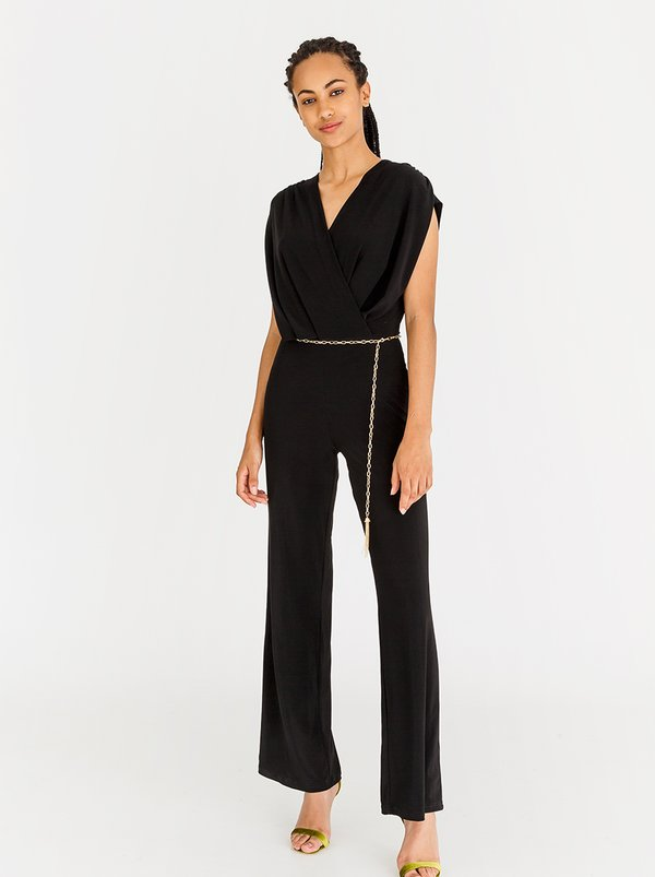 Contempo Essential Jumpsuit Black
