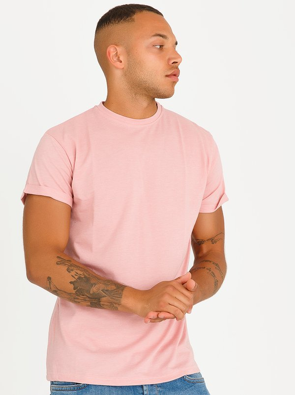 STYLE REPUBLIC TP Oversized Tee Mid Pink