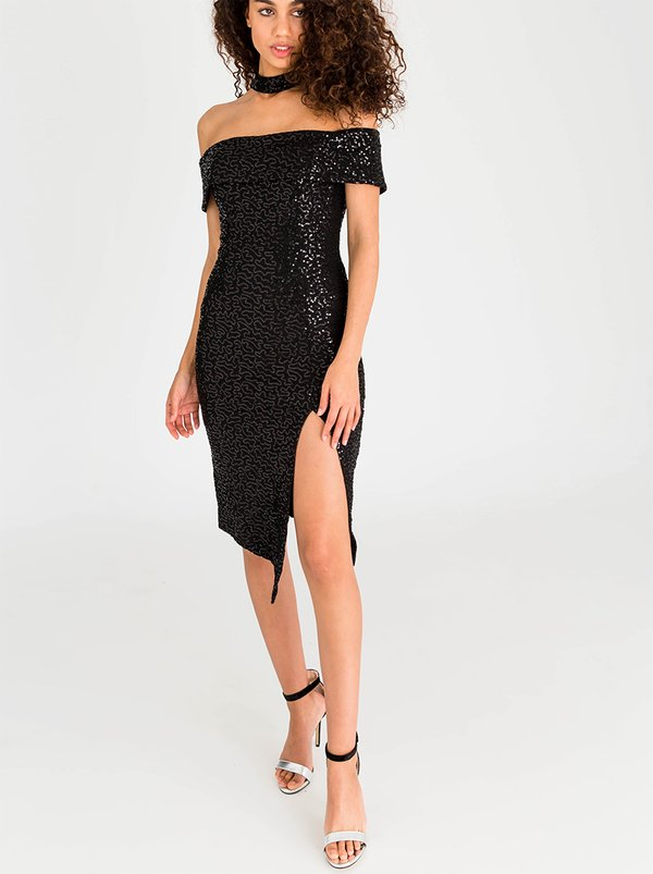 Shimmery cocktail dresses