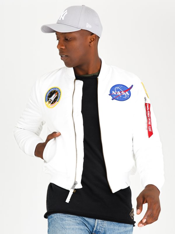 MA-1 VF NASA Jacket White | Alpha Industries
