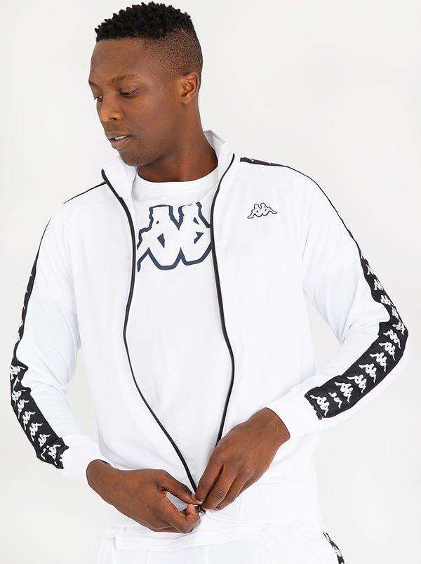 Banda Anniston Sweatshirt White | KAPPA