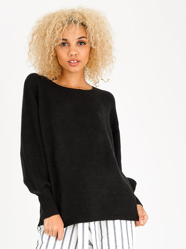 ONLY Trust Bell Pullover Jersey Black