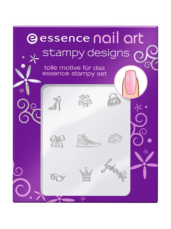 Nail Art Stamping Kit Nail Polish- HireAbility