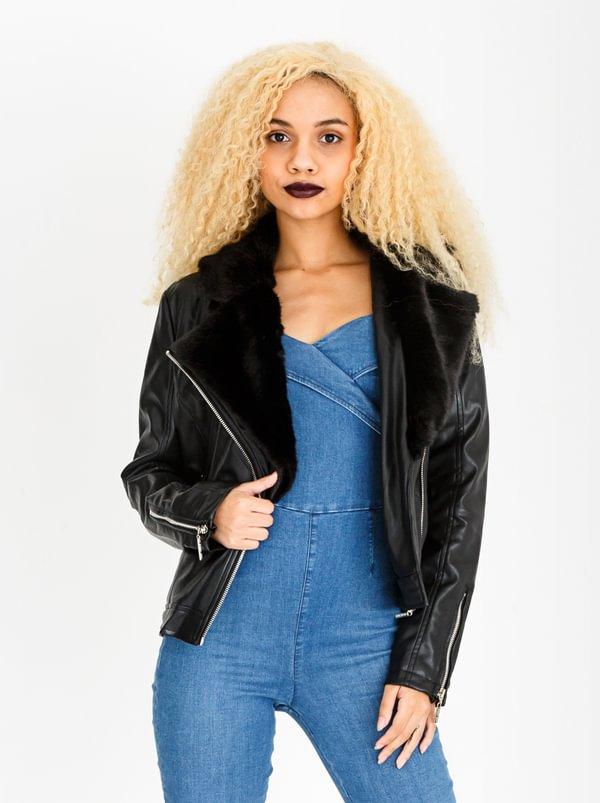 Clea Biker Jacket Black | SISSY BOY