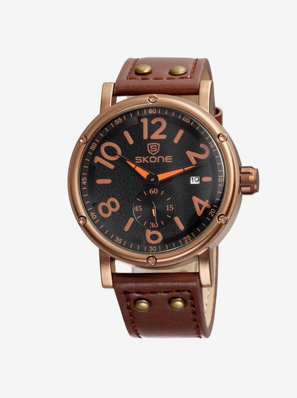 Skone Skone Glasgow Watch Brown