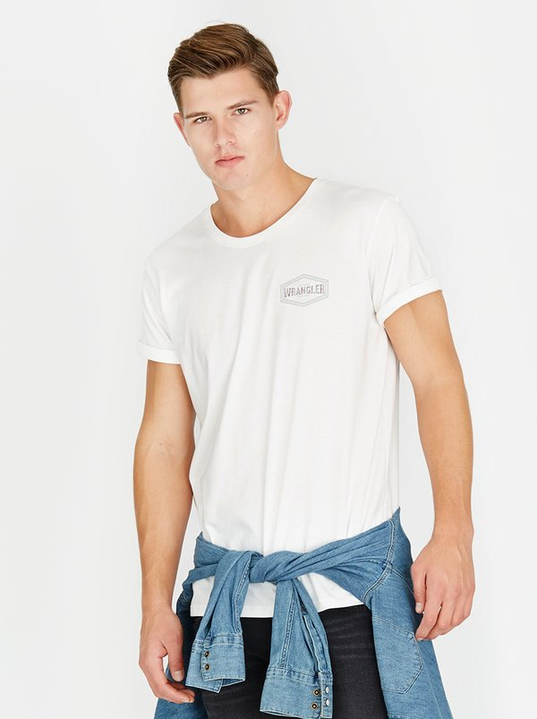 Wrangler Time Tested Tshirt White