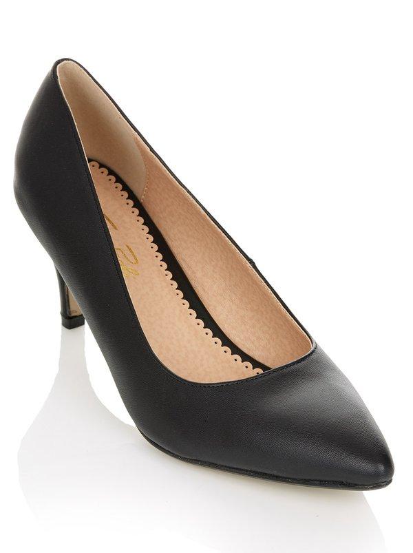 Mango Tan Court Shoes