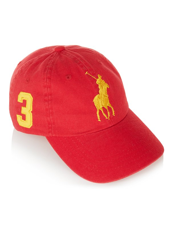 Buy red polo cap - 60% OFF! e3dbce05440