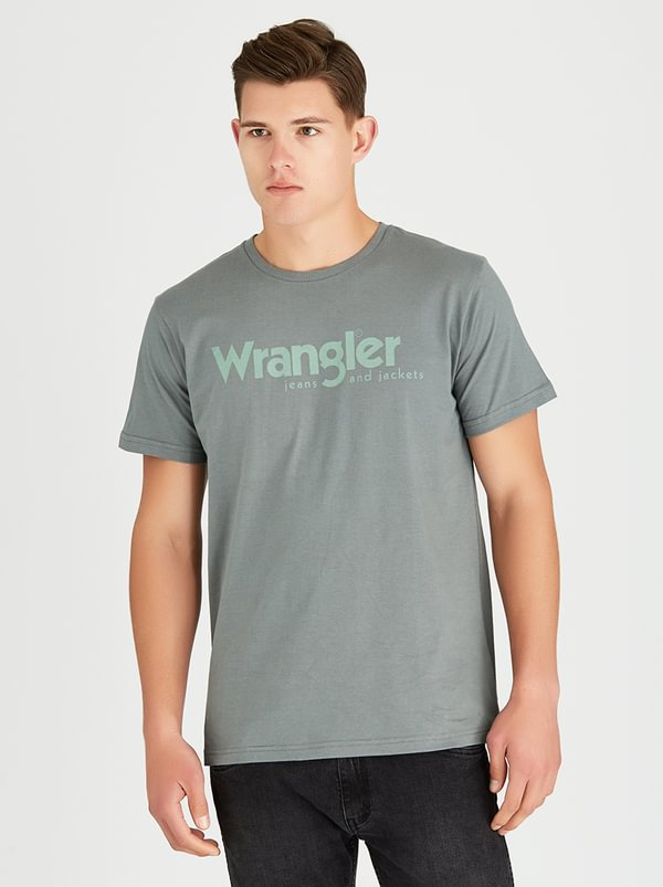 Wrangler Kabel T-Shirt Green