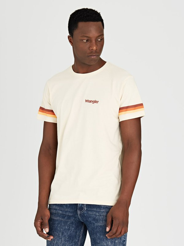 Wrangler Retro T-Shirt Off White