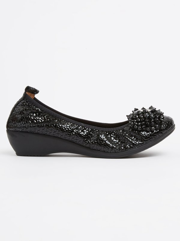 Leather Cut Out Detail Pumps Black Julz cheap lowest price buy cheap prices S4NwDpp