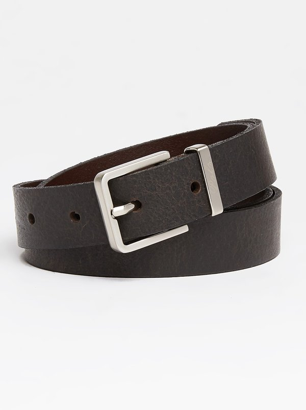 Polo Leather Kennedy Belt Black