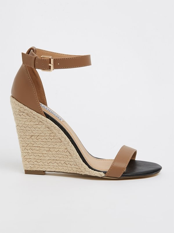 Madison Ankle-strap Wedges Multi-colour