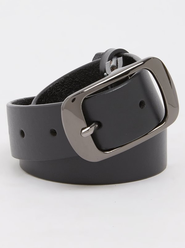 edit Skinny Belt Black