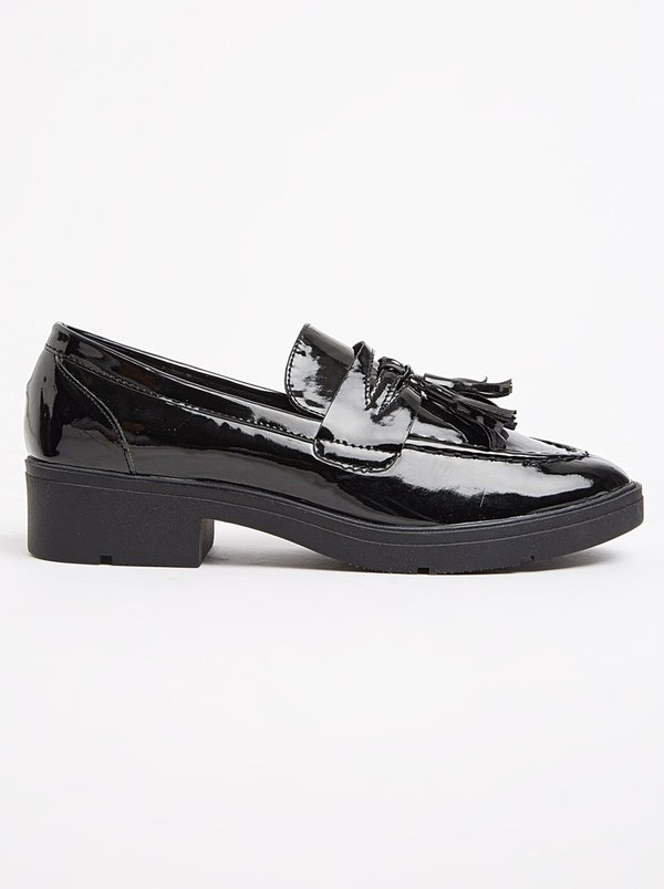 outlet looking for clearance footlocker Tassel Detail Loafers Black FOOTWORK supply sale online discount cheap i7eXK
