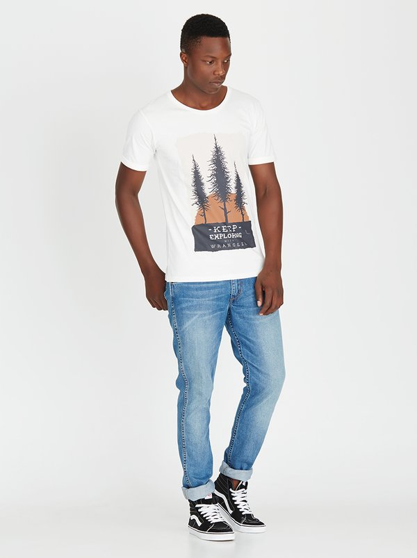 Wrangler Dusk to Dawn T-Shirt Off White