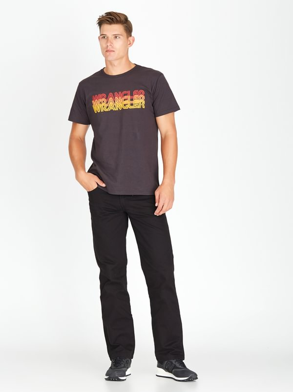 Wrangler Texas Straight Denim Black