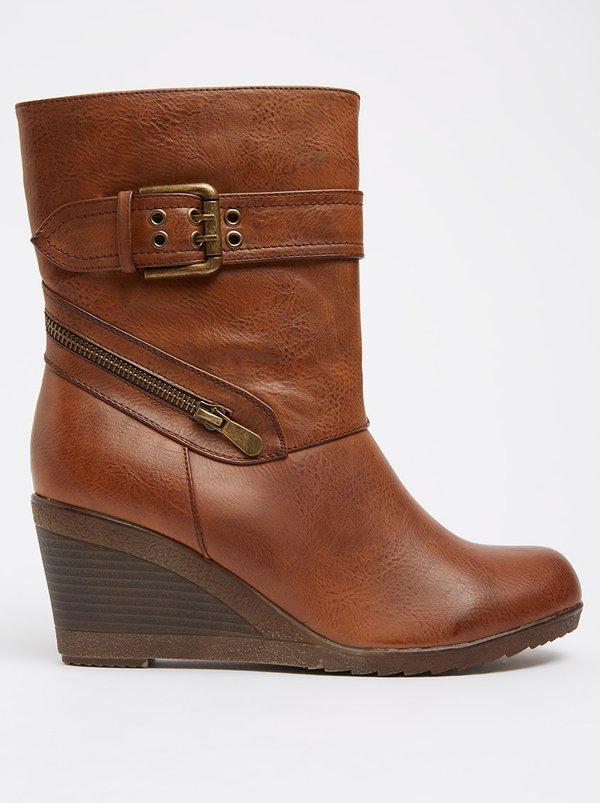 Franco Ceccato Franco Ceccato Ankle Boots With Zip Detail Brown discount hot sale genuine cheap price hCOAumyOA
