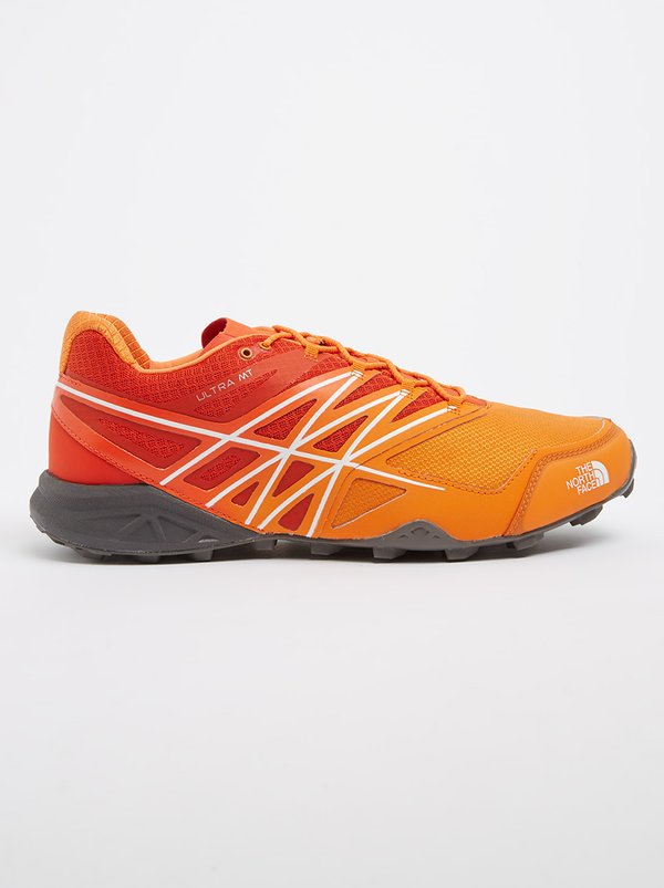 The North Face TNF Ultra Running Trainers Orange