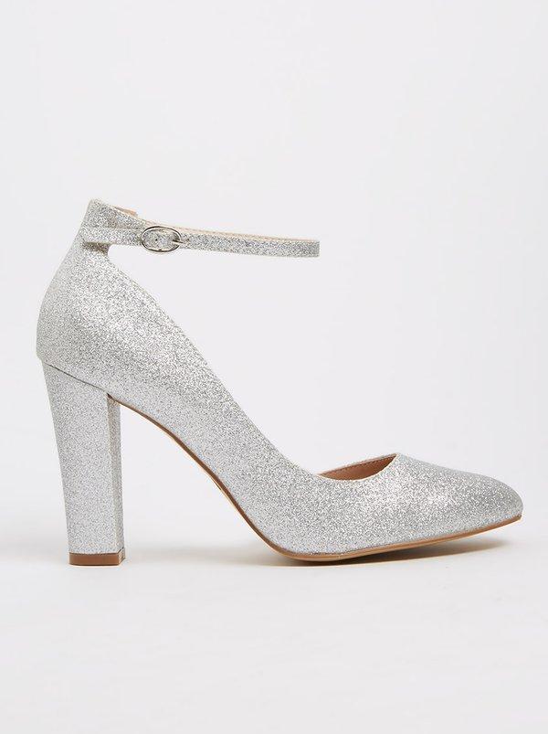 Franco Ceccato Women's Heels Alessio Ankle strap Heels Silver