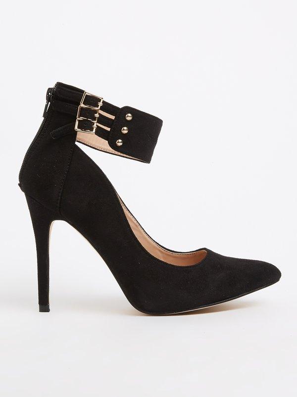 SISSY BOY Women's Heels Ankle strap Heels Black