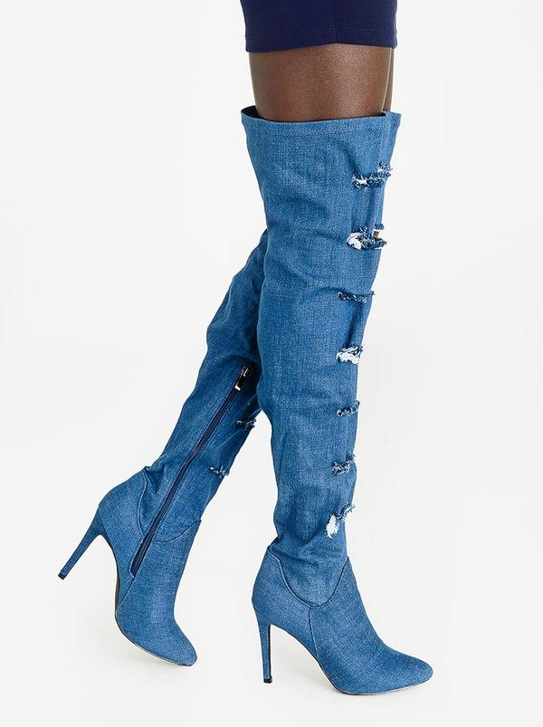 marketable cheap online discount pre order Anya Thigh High Boots Black STYLE REPUBLIC big sale cheap price cheap sale choice foW1D