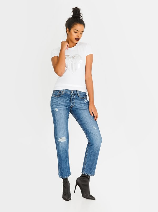 Levi's® 501 Tapered Jeans Mid Blue