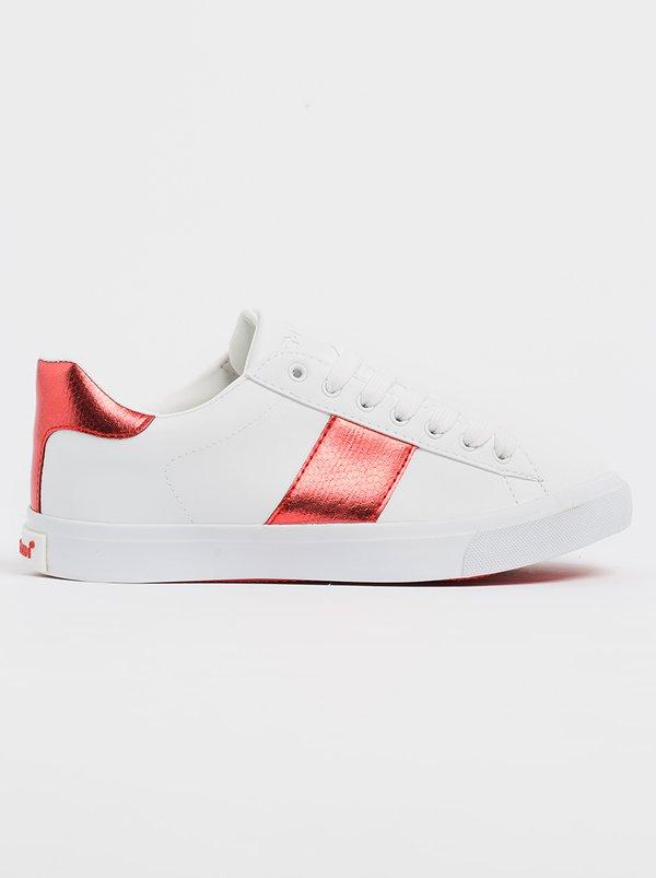 Native Stripe Sneakers Red | Tom Tom