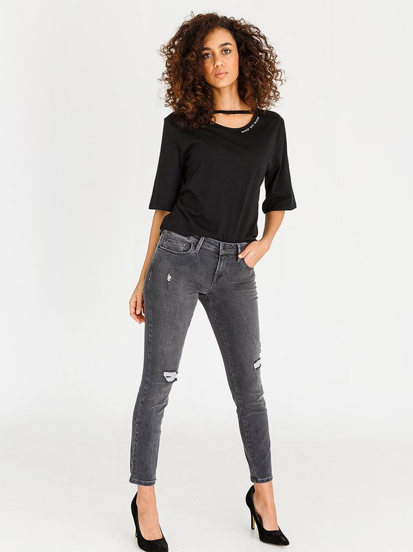 Guess Guess Power Skinny Jeans Grey