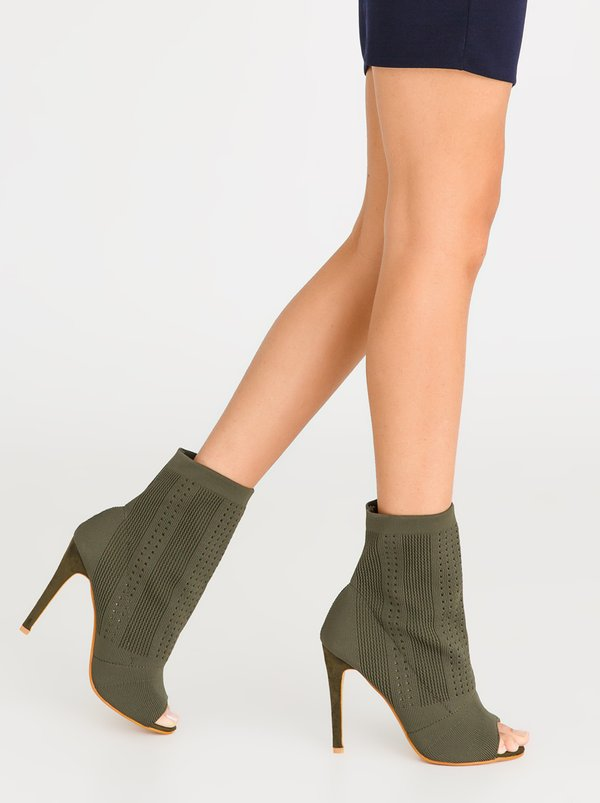 Dolce Vita Women's Boots Marbella High Heels Black