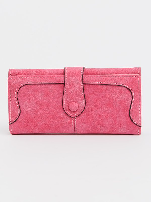 STYLE REPUBLIC Trifold Purse Mid Pink