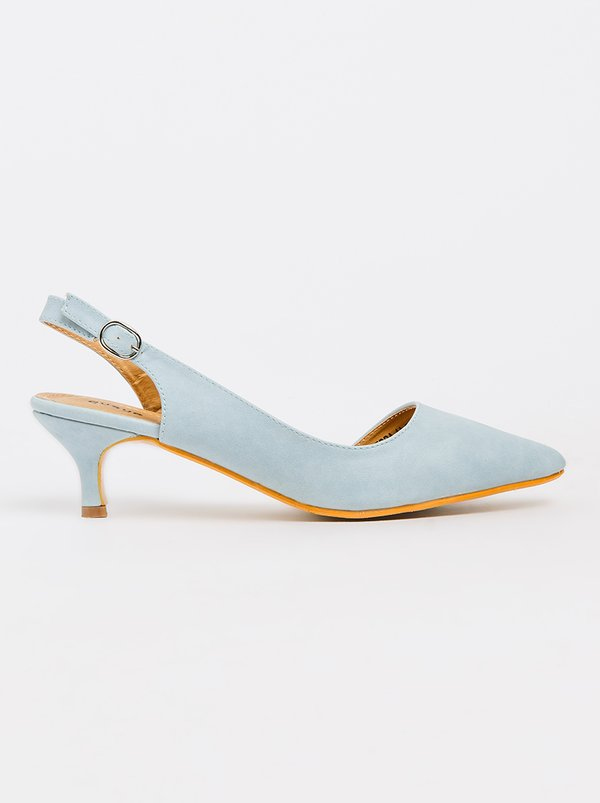 Queue Slingback Heels Blue