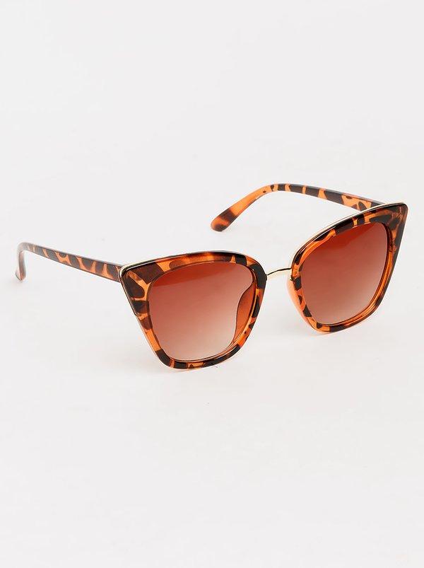 Cat-eye Sunglasses Animal Print | Dazzle