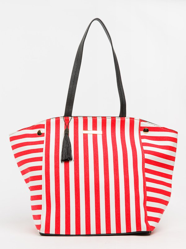 BLACKCHERRY Striped Shoulder Bag Multi-colour