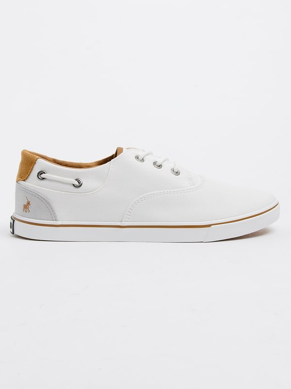 White Canvas Shoe Discovery