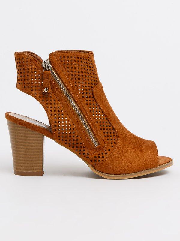 Jada Women's Heels Ines Slingback Heels Black