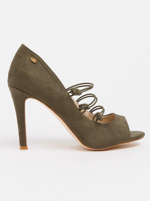 Shayne Court Heels Green Miss Black 100% authentic cheap price bKffmSNUwp