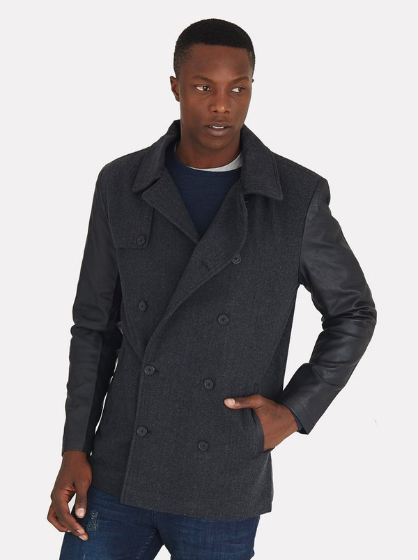 Dench Jacket Charcoal | Dissident