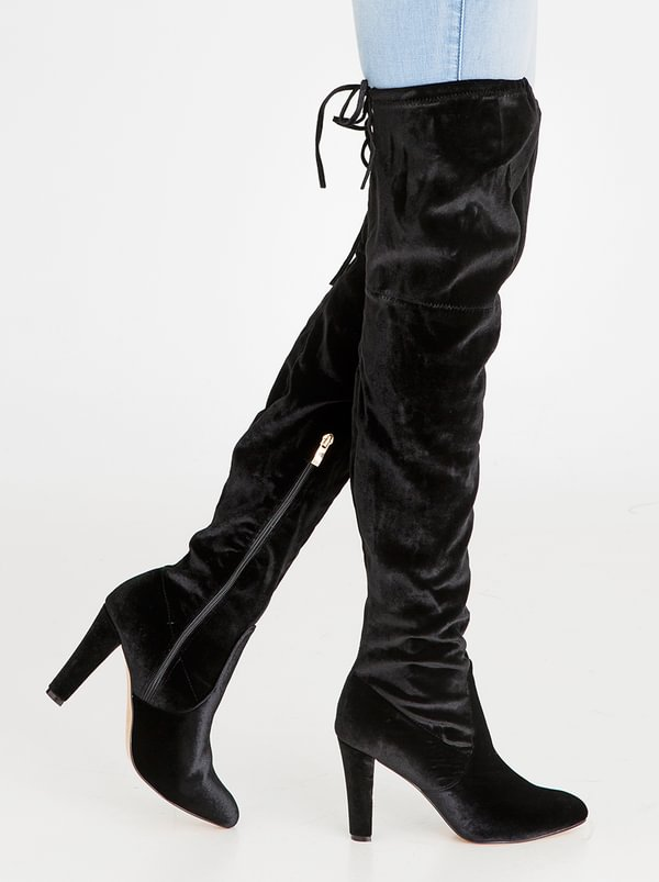 buy cheap wholesale price for cheap Heeled Thigh High Boots Black SISSY BOY discount 2015 new 2014 newest cheap price lowest price for sale QMllaAzArO