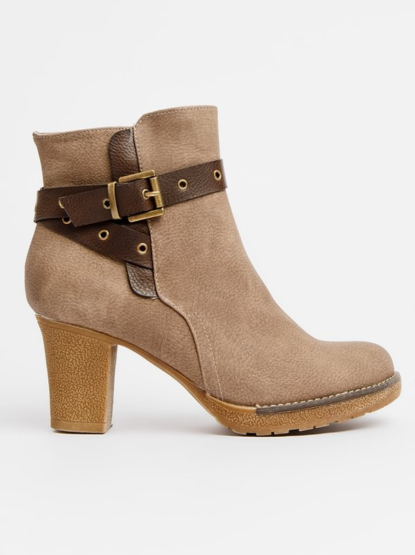 Franco Ceccato Franco Ceccato Ankle Boots With Contrast Belt Black clearance pick a best good selling online the cheapest for sale clearance exclusive e8KwkMFXk