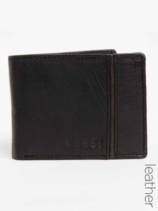 BOSSI Presb Leather Wallet Black