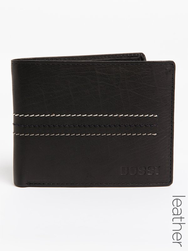 BOSSI Presbfs Leather Wallet Black