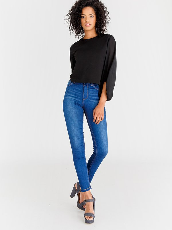 STYLE REPUBLIC Skinny Jeans Mid Blue