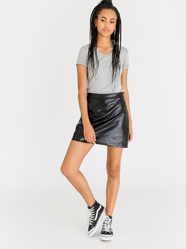Vero Moda Macie Mini Skirt Black
